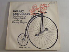 BOB SCOBEY'S FRISCO BAND With Clancy Hayes UK 1956 Good Time Jazz LAG 12145 LP