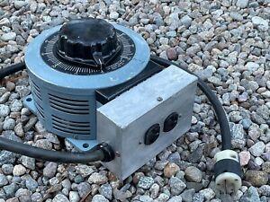 POWERSTAT SUPERIOR ELECTRIC 136B VARIABLE TRANSFORMER VARIAC 3.1 KVA 0-140V 22A