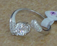 Ladies Cubic Zirconia Ring Size 9 Size 8 and Size 7