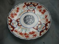Assiette ancienne PORCELAINE  IMARI antique  porcelain