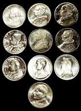 Le medaglie del PAPA (serie di 10 esemplari) 35 mm.
