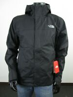 Mens TNF The North Face Venture 2 Dryvent Waterproof Hooded Rain Jacket - Black
