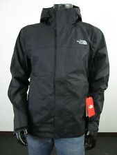 Mens TNF The North Face Venture 2 Dryvent Waterproof Hooded Rain Jacket - Black