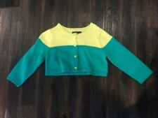 NWT BABY GAP GIRLS GREEN CARDIGAN SWEATER 6-12 MONTHS NEW twins ?