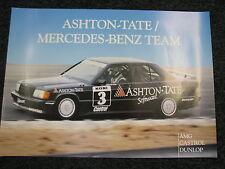 Poster Ashton-Tate Mercedes-Benz Team #3 Arthur van Dedem (NED) NK Groep N (JS)