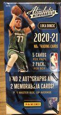 2020-21 20-21 PANINI ABSOLUTE MEMORABILIA Baloncesto NBA pasatiempo Caja Sellada