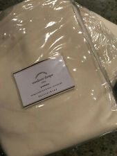 """Pottery Barn Set of 2 Outdoor Grommet Drapes 96"""" Natural NEW"""