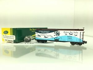 1137 S Helper Gerber Food Strained Vegetables Reefer  High Rail S Scale 2 Rail