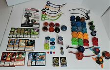 Beyblades Launchers Ripcords Cards Replacement Parts Large Lot 79 Pieces *1912