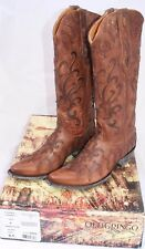 OLD GRINGO Latara women's cowboy cowgirl boots  8.5 NEW IN BOX brown oryx  $620