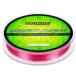 KastKing Monofile Nylon Angelschnur 0.25mm 275m 3.63kg  Angeln Mono Schnur Hecht