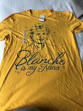Golden Chicas Blanche Devereaux Rue McClanahan oficial NBC Camiseta-Grande