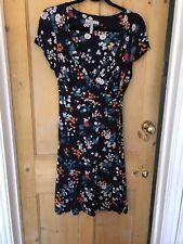 Bravissimo Blue Flower Dress Size 12 Really / Super Curvy