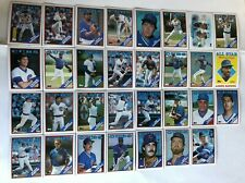 1988 CHICAGO CUBS Topps COMPLETE Baseball Team Set 31 Cards SANDBERG DAWSON +AS!