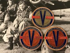 VE Day Geocoin - New (Single Coin)