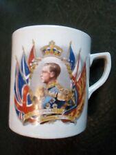 Pottery Edward VIII Coronation Souvenir Mug 1937