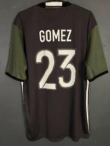 MEN'S ADIDAS GERMANY 2016/2017 GOMEZ SOCCER FOOTBALL SHIRT JERSEY SIZE L LARGE