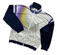 Men`s RARE Vintage Sergio Tacchini Sport Jacket Size 52 Made in Italy