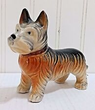 Vtg Dog Figurine Cairn Terrier Hand Painted Japan Norwich Scottish Mini Scottie