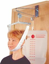 Over The Door Cervical Neck Traction Unit Kit Home Head Brace 9630