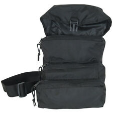 Trifold Tactical Response Military MOLLE Medical Trauma Field Bag EMT EMS  - BLK