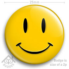 "WATCHMEN MOVIE COMIC SMILEY FACE LOGO Acid House BADGE 25mm 1"" Badge"