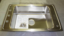 Elkay DRKR31194 Lustertone Double Ledge Classroom Commercial Stainless Sink