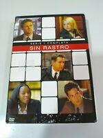 Senza Traccia Prima Stagione 1 Completa - 4 X DVD Spagnolo Inglese