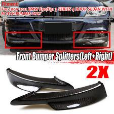 For BMW E90 E91 LCI 09-12 325i 335i M-Tech Carbon Fiber Front Bumper Splitter
