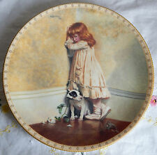 "The Original ""In Disgrace"" by Charles Barber, A Victorian Childhood Plate 8.25"""