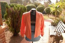 Dotti Size 12 3/4 Sleeved Ruched Jacket Pre Loved