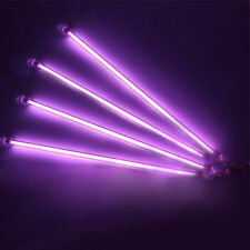 Under Car Auto Underbody 4 Piece Neon Kit Lights Purple UnderCar Light 12""