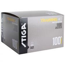 Table Tennis Balls: Stiga Training Ball 40+ White  x 100 Balls