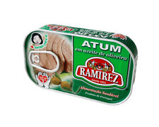4 x Cans Portuguese Tuna Fish in Olive Oil Ramirez Canned Tuna Fish 480g - 16oz