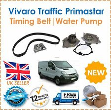 For Vauxhal Vivaro 1.9 DCi Di DTi 2001-2006 Timing Belt Kit & Water Pump New
