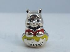 New Authentic Pandora Disney Winnie the Pooh Honey Pot Charm Bead #791919ENMX