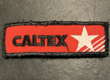 CALTEX Genuine Vintage Service Station Sew On Patch Badge