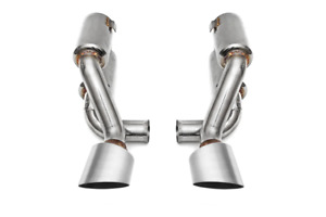 Fabspeed Porsche 993 Turbo Supercup Exhaust with Brushed Stainless Tips