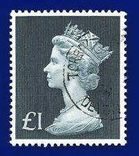 1972 SG831b £1 Bluish Black Good Used Torbay aqdb