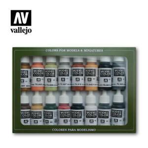 AV Vallejo 70107 Model Color German Colours WWII 16 x 17ml