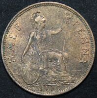 1930 | George V Half-Penny | Coins | KM Coins