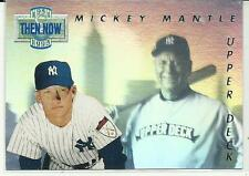 1993 UD Mickey Mantle Then & Now 1951/1993 HOLOGRAM YANKEES