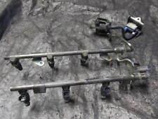 VQ35DE VQ OEM Fuel Rail 350Z G35 M35 w Black Injectors
