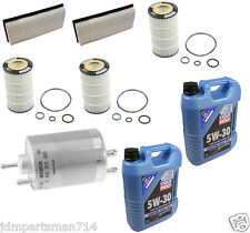 Mercedes Benz Tune Up Filter Kit >Air-Oil-Fuel Filters W/ 10-Liters Motor Oil #3