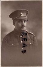 WW1 Soldier Notts & Derby Regiment Sherwood Foresters Waxed moustache