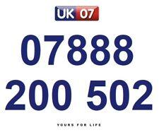 07888 200 502 Gold Easy Memorable Business Platinum VIP UK Mobile Phone Number
