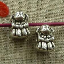 44 pieces tibetan silver bear spacer beads 13x10mm(for bracelet)#2665
