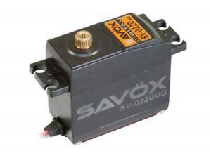 Savox HV Digital Servo 8KG/0.13s/7.4V : SAV-SV0220MG