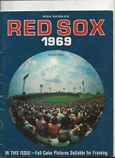 1969 Boston Red Sox Yearbook revised edition exc-near mint  condition(see scan)