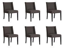 6x Chairs Chair Pads Design Lounge Club Seat Lehn Set Armchair, New